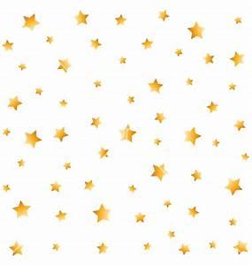 Gold stars seamless background vector by Prikhnenko ...