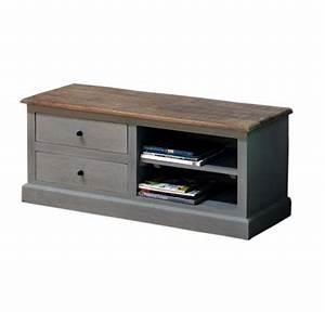 Meuble Tv Bois Gris : meubles manguier et bois recycle ~ Teatrodelosmanantiales.com Idées de Décoration