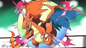 Pokemon X/Y: Charizard's Mega Evolution! - Speed Art - YouTube