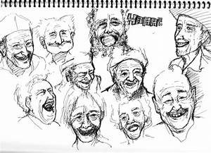 Laughing Old Man by Mei-LoveDrawing on DeviantArt