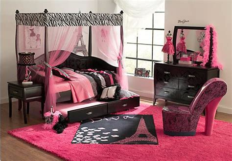Shop For A Belle Noir Dark Merlot Pc Zebra Canopy Daybed