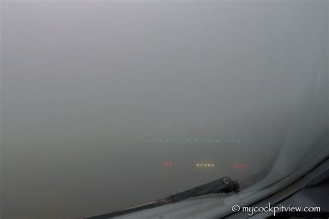 low visibility approach
