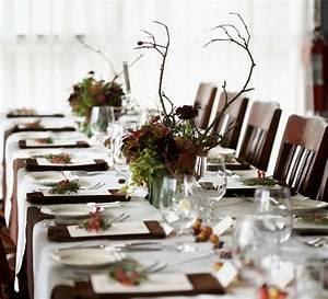 Tisch Blumen Hochzeit : herbst tischdekoration zur hochzeit ideen zum nachmachen ~ Orissabook.com Haus und Dekorationen