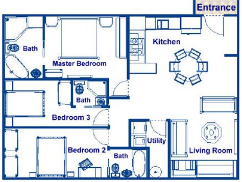 3 bedroom apartments in tx 900 second largest stateroom on deck level r 900 sq ft family