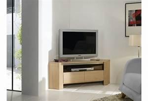 Meuble De Tele Design : meuble tv angle design meuble tv design suspendu maisonjoffrois ~ Teatrodelosmanantiales.com Idées de Décoration