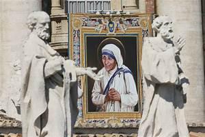 Donald Trump and Hillary Clinton react to Mother Teresa's ...