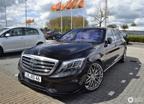 Brabus Maybach 900 Rocket by Mercedes Maybach Brabus 900 Rocket 23 Avril 2016