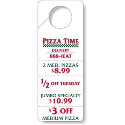 door hanger   tear  coupons china wholesale dhd