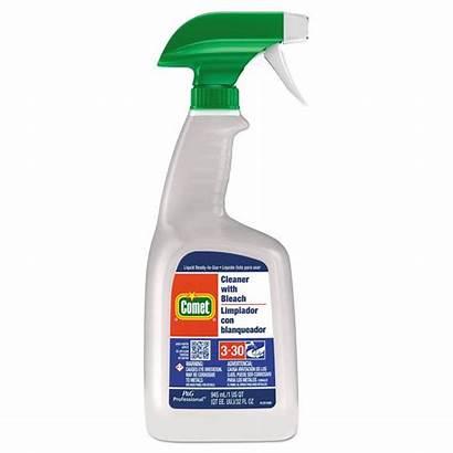 Comet Bleach Cleaner Spray Oz Bottle Bottles