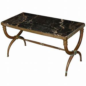 vintage roman style coffee table at 1stdibs With roman coffee table