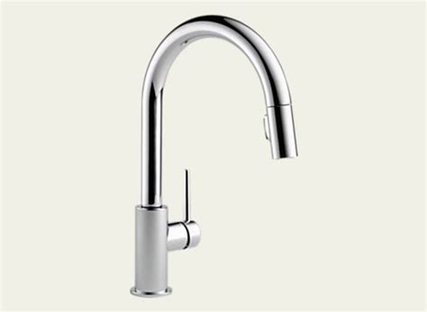 Delta Trinsic Kitchen Faucet Specs by Delta 9159 Dst Trinsic Pull Kitchen Faucet