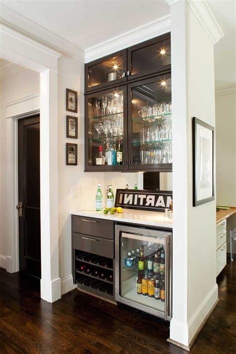 wonderful mini glass fridge  wine high gloss cabinets