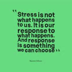 Quotes About Stress