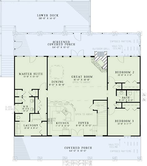 country style house floor plans style country house plans home design 153 1313