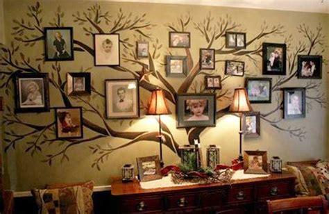 modern interior decorating ideas incorporating tree wall art