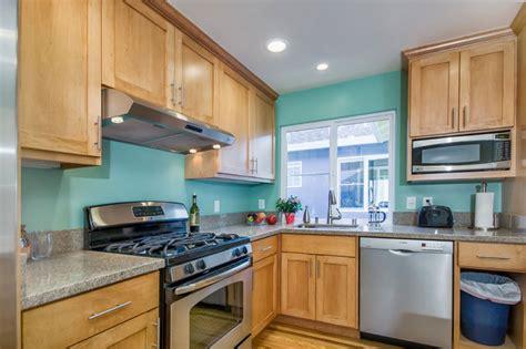 teal kitchen  duplex traditional kitchen san