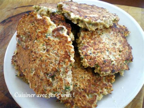 cuisiner flocon d avoine galettes de flocons d 39 avoine au thon cuisiner avec ses 5