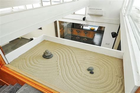'Reimagined' Eichler in San Jose Includes Interior Zen Garden