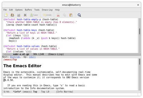 Few Text Editors' Learning Curves. Emacs
