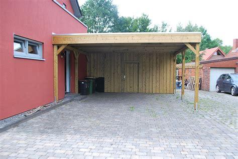 Garten Mit Carport Gestalten by Carports Ger 228 Teh 228 User Individuell Mit Holz Gestalten