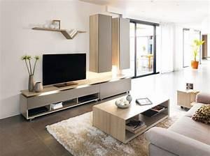 tapis epais couleur taupe beige blanc deco cocooning With deco cuisine pour meuble salon
