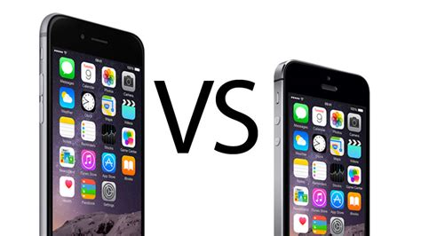 iphone 6 vs 5s iphone 5s vs iphone 6 comparison review review macworld uk