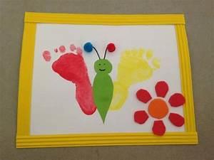Activites Enfant 2 Ans : activit manuelle peinture papillon avec les empreintes d enfants d s 1 an et demi ~ Melissatoandfro.com Idées de Décoration
