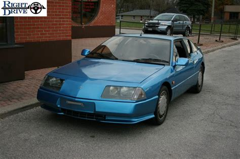 Renault Gta For Sale by 1989 Renault Alpine Gta For Sale 16 999 With Warranty