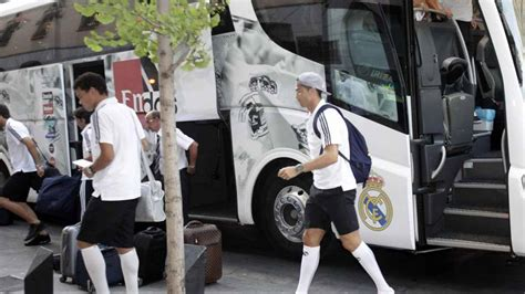 bayern munich real madrid real madrids team bus