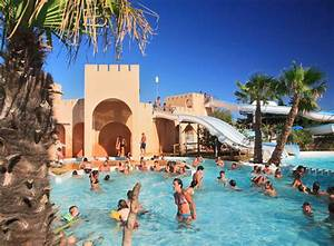 espace aquatique parc aquatique camping les mimosas 4 With hotel avec piscine languedoc roussillon