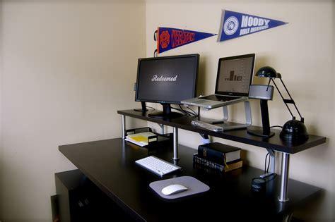bureau console ikea monitor stand ikea styles colors and materials homesfeed