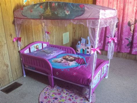 Awesome Canopy Toddler Beds For Girls Bedroom Toddler
