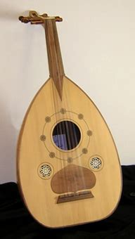 A number of musical instruments used in classical music are believed to have been derived from arabic musical instruments: Music