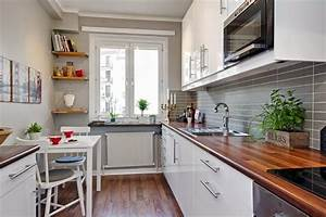 Functional long narrow kitchen ideas designs and cabinets for Kitchen design for long narrow room