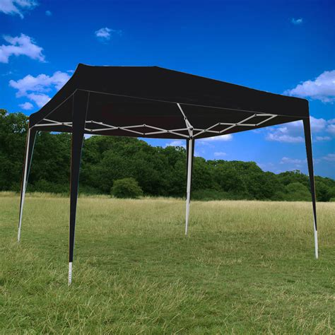 heavy duty canopy canoup 3x3 black heavy duty pop up gazebo canopy