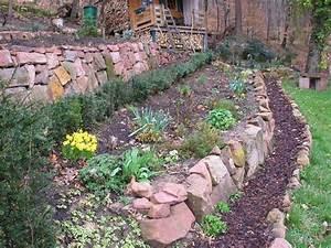 Garten Leichte Hanglage : trockenmauer als kleine st tzmauer wer hat ideen und ~ Whattoseeinmadrid.com Haus und Dekorationen