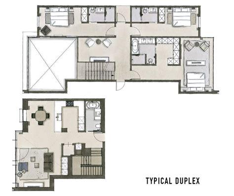 plan de maison contemporaine 4 chambres plan de maison duplex 4 chambres
