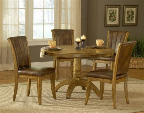 oak dining room sets  sale cheap pc  dining