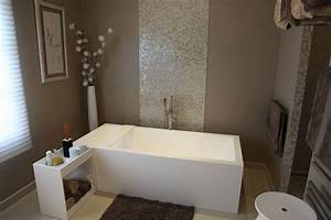 Deco salle de bain zen on pinterest for Decoration salle de bain zen