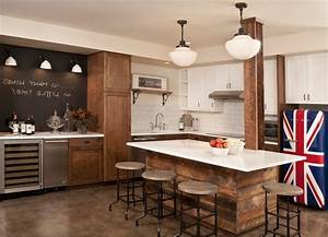 Bar chalkboard ideas basement traditional with kitchen
