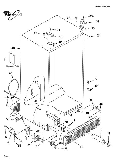 whirlpool refrigerator wiring diagram model gdshaxnb00