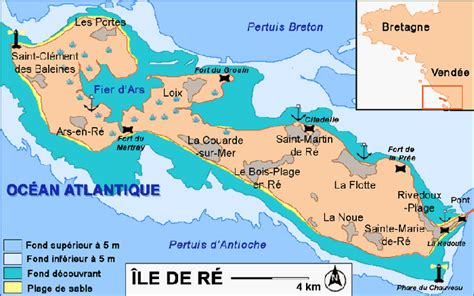 bike selfguided ile de re bike guide route and overview