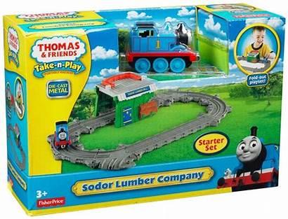 Thomas Sodor Take Play Lumber Mill Friends