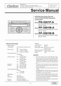 Clarion Pp-3001m-b Service Manual