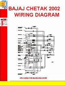 Bajaj Chetak 2002 Wiring Diagram