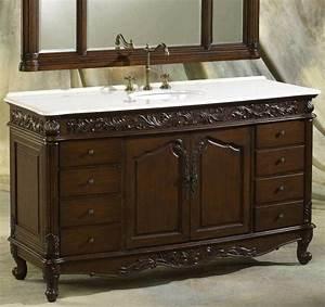 Dark, Wood, Bathroom, Vanities, Add, A, Touch, Of, Elegance, And