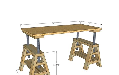 learn  sawhorse plans  plan