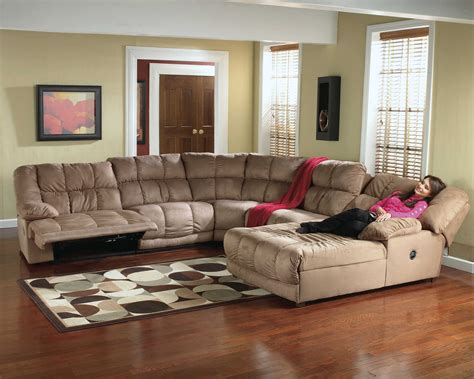 microfiber recliner sectional sectional sofa recliner