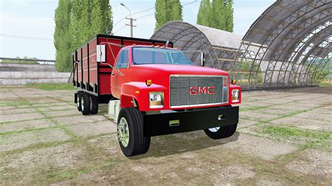 GMC Car : Gmc C7500 Dump Truck For Farming Simulator 2017