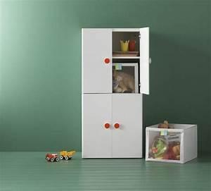 idee rangement chambre enfant avec meubles ikea With meuble jouet ikea